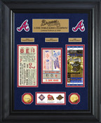 Atlanta Braves World Series Deluxe Gold Coin & Ticket Collection