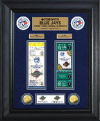 Toronto Blue Jays World Series Deluxe Gold Coin & Ticket Collection