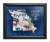 Kansas City Royals State of Mind Framed Print