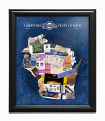 Milwaukee Brewers State of Mind Framed Print