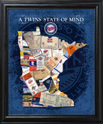 Minnesota Twins State of Mind Framed Print