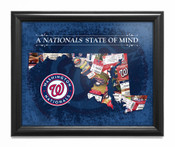 Washington Nationals State of Mind Framed Print