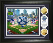 2016 MLB All Star Game Gold Coin Photo Mint