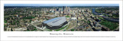 Minnesota Vikings at US Bank Stadium Aerial Poster