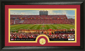 Iowa State Cyclones Bronze Coin Panoramic Photo Mint