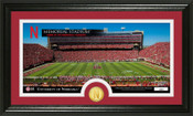 Nebraska Cornhuskers - Memorial Stadium Panoramic Bronze Coin Photo Mint