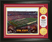 Iowa State Cylcones - Jack Trice Stadium  Bronze Coin Photo Mint