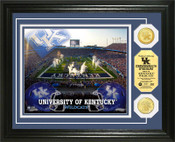 Kentucky Wildcats - Commonwealth Stadium Football Bronze Coin Photo Mint