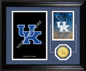 "Kentucky Basketball ""Fan Memories"" Bronze Coin Desktop Photo Mint"