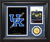 "Kentucky Wildcats ""Fan Memories"" Bronze Coin Desktop Photo Mint"