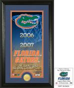"Florida Basketball ""Legacy"" Bronze Coin Photo Mint"