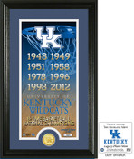 "Kentucky Basketball ""Legacy"" Bronze Coin Photo Mint"