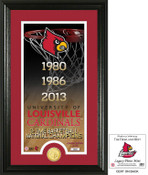 "Louisville Basketball ""Legacy"" Bronze Coin Photo Mint"