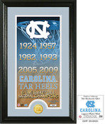 "North Carolina Basketball ""Legacy"" Bronze Coin Photo Mint"