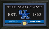 "Kentucky Wildcats ""Man Cave"" Panoramic Bronze Coin Photo Mint"