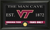 "Virginia Tech Hokies ""Man Cave"" Panoramic Bronze Coin Photo Mint"