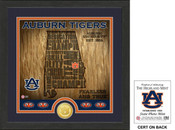 "Auburn Tigers ""State"" Bronze Coin Photo Mint"