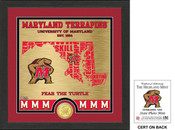 "Maryland Terrapins ""State"" Bronze Coin Photo Mint"