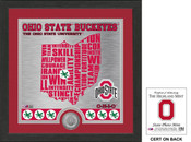 "Ohio State Buckeyes ""State"" Minted Coin Photo Mint"