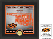 "Oklahoma State Cowboys ""State"" Bronze Coin Photo Mint"