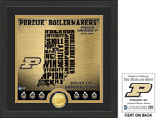 "Purdue Boilermakers ""State"" Bronze Coin Photo Mint"