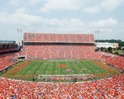 "Clemson Tigers ""Sea of Orange"" Memorial Stadium Photo"