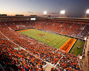 "Oklahoma State Cowboys ""Sunset"" at Boone Pickens Stadium Photo"