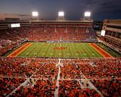 "Oklahoma State Cowboys ""50 Yard Line"" at Boone Pickens Stadium Photo"