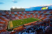 """Tennessee Volunteers """"Checkered"""" Neyland Stadium Photo"""