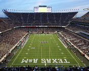 "Texas A&M Aggies  ""End Zone"" at Kyle Field Photo"
