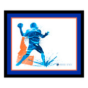 Boise State Broncos Silhouette Art