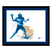 BYU Cougars Silhouette Art