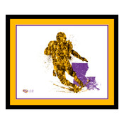 LSU Tigers Silhouette Art