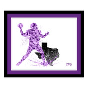 TCU Horned Frogs Silhouette Art