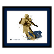 Pitt Panthers Silhouette Art
