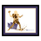 Washington Huskies Silhouette Art