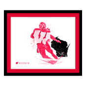 Wisconsin Badgers Silhouette Art