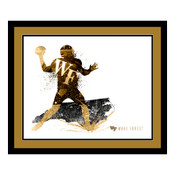 Wake Forest Demon Deacons Silhouette Art