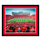 Nebraska Cornhuskers - Memorial Stadium Art