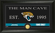 "Jacksonville Jaguars ""Man Cave"" Bronze Coin Panoramic Photo Mint"