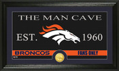 "Philadelphia Eagles ""The Man Cave"" Bronze Coin Panoramic Photo Mint"