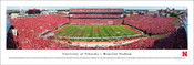 Nebraska vs Oregon at Memorial Stadium Panorama Poster
