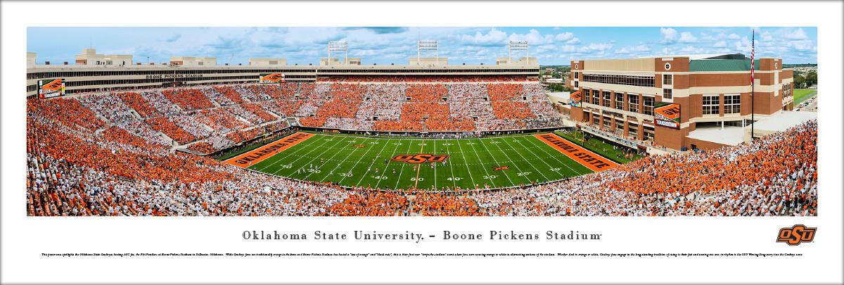 Oklahoma State at Boone Pickens Stadium Panorama