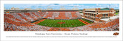 "Oklahoma State Cowboys ""50 Yard Line"" at Boone Pickens Stadium Panorama Poster"