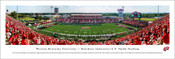 Western Kentucky Hilltoppers at L.T. Smith Stadium  Panoramic Poster