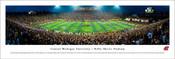 Central Michigan Chippewas at Kelly-Shorts Stadium Panoramic Poster