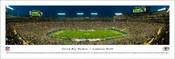 Green Bay Packers at Lambeau Field Panoramic Poster