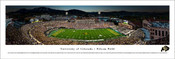 Colorado Buffaloes at Folsom Field Panoramic Poster