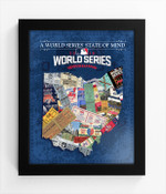 2016 World Series State of Mind Framed Print - Cleveland Indians