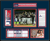 2016 ALCS Champions Ticket Frame - Cleveland Indians